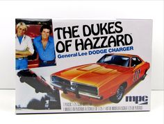 General Lee Dodge Charger Dukes of Hazzard TV Car AMT/MPC 1/25