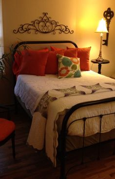 1000 Images About Painted Iron Beds On Pinterest