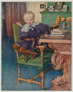 Carl Larsson,Kinderportret 1898 by janwillemsen, via Flickr