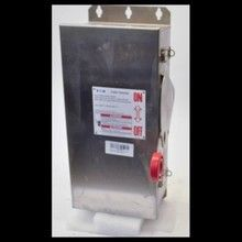 Eaton DH361FWK 30A 600V Stainless Heavy Duty Safety Switch Cutler Hammer NEW (YY3883-1). See more pictures details at http://ift.tt/2jI5QnL