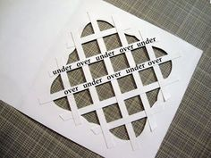 What a lovely way to get a Lattice Look on any size card or picture you want!! :) Found at - Papercraft Star: Thursday's Tutorial from Tracy !!