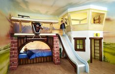 30 Foto di Letti a Castello per Bambini Davvero Originali   MondoDesign.it