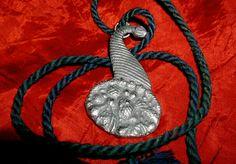 DECORATIVE SYMBOLIC Antique MASONIC LODGE STEWARD'S JEWEL! Blue Cord! HISTORIC!