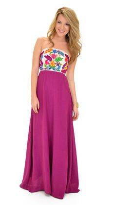 Judith March Two Plums Up Maxi :: NEW ARRIVALS :: The Blue Door Boutique