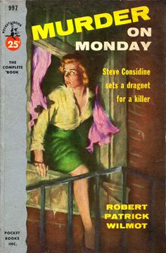 Murder on Monday - illus George Mayers 1954