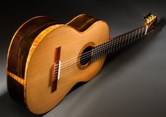 The Mustapick Allegro Classical    The Allegro Classical is a powerful concert instrument with beautiful tone and strong projection in all registers.  Matthew Mustapick Guitars, Soquel, CA