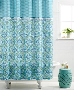 dena home tangier shower curtain shower curtains u0026 accessories bed u0026 bath macyu0027s