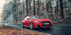 Driving the 2018 Audi TT RS With the Man Who Created It