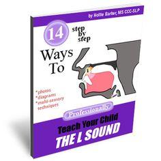 14 Ways To Teach Your Child the L Sound // Free videos