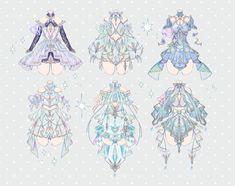 Anime Girl Dress, Anime Art Girl, Female Character Design, Character Design Inspiration, Anime Poses Reference, Art Reference, Sailor Moon Wallpaper, Drawing Anime Clothes, Fashion Design Drawings