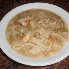 GREAT OLD FASHIONED CHICKEN AND DUMPLINGS