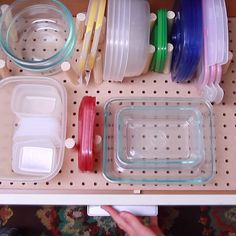 How To Organize Your Tupperware For Good