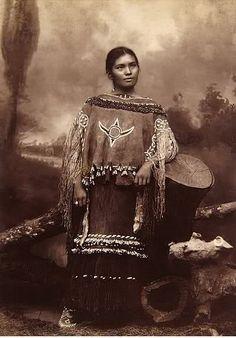 Chiricahua Apache Woman Elsie Vance Chestuen.