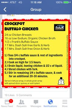 Advocare meal- 24 day challenge-crockpot buffalo chicken hell yes Advocare 10 Day Cleanse, Advocare Diet, Advocare Challenge, Advocare Recipes, Advocare Products, Cleanse Recipes, Diet Recipes, Candida Recipes, Advocate 24 Day Challenge