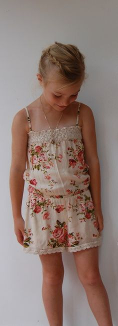 One Good Thread - Girl and a Mouse | Rosie Boho Romper | Natural, $52.00 (http://www.onegoodthread.com/girl-and-a-mouse-rosie-boho-romper-natural/)