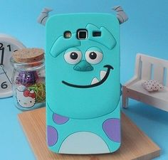 3D Sulley Case Soft Silicone Back Cover For Samsung Galaxy Grand Neo i9060 9062