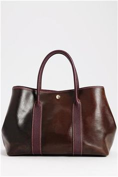 Hermes Pre-Owned Garden Party Amazonia Buffalo Leather Tote - Enviius.com