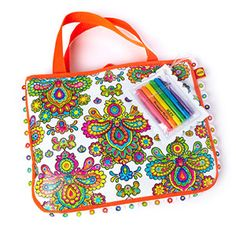 Best Beach and Sand Toys for Kids This Summer: Color A Tote Bag (via Parents.com)