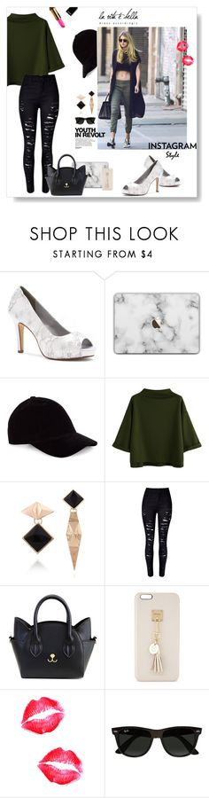 """""""la vita é bella"""" by meenz92 ❤ liked on Polyvore featuring Dyeables, Hedi Slimane, WithChic, Iphoria, Ray-Ban, 60secondstyle and PVShareYourStyle"""