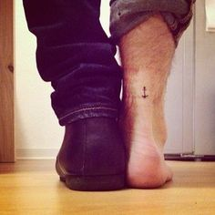 ~~~I like where this is placed!!!  A Tiny and Subtle Tattoo | The 34 Kinds Of Tattoos That Look Insanely Hot On Guys