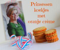 ~Elke dag zaterdag maakte koekjes met oranje creme voor Prinses Amalia - recept koekjes van Elisanne~