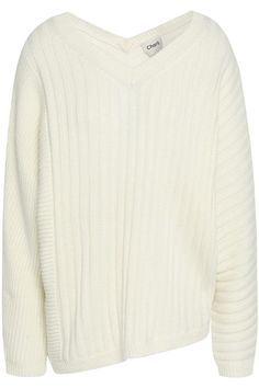Shop on-sale Asymmetric ribbed-knit sweater. Browse other discount designer Medium Knit & more luxury fashion pieces at THE OUTNET Knitting, Winter, Sweaters, Tops, Fashion, Winter Time, Moda, Tricot, Stricken