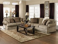 sofa and loveseat - sheffield opulent