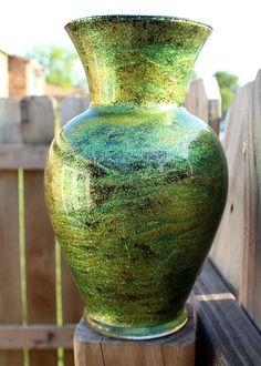 DIY Shimmery Glitter Vase   Heavily Edited