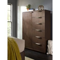 Rachael Ray Soho 6 Drawer Chest with Door - 6020-2210