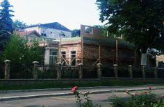 cladire in timpul renovarii si constructiei de etaj pe structura din lemn http://www.mobina.ro/santier.html