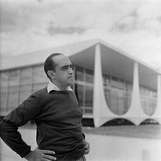 a young Oscar Niemeyer