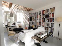 Un appartement sous les toits | Intérieurs.fr