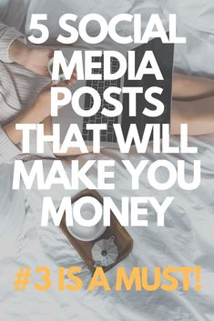 Making passive Income and income online is a lot easier when you know what to do with social media, whether than be Pinterest, Facebook or Instagram. Make money from home and learn the best ways to promote your product or services on social media for both beginners and experts. Here are 5 social media post ideas that will make you money and help you create an online income so you live a life of freedom, a life of travel and a create a life lived on your own terms. Click for more...