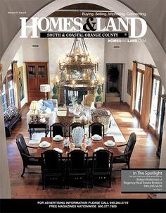 View the latest issue online of Homes & Land of South and Coastal Orange County #homesandlandmagazine #realestate #homesforsale