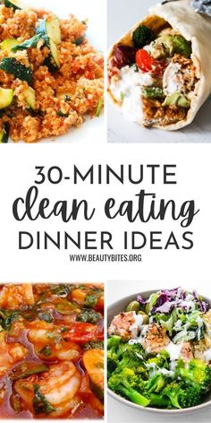 Healthy Family Dinners, Quick Healthy Meals, Quick Dinner Recipes, Good Healthy Recipes, Healthy Eating, Healthy Meals For Families, Healthy Meals For Dinner, Easy Dinners For One, Quick Family Meals