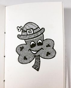 So what are your plans for St. Patty's day? . Love to draw? Find our sketchbooks on Etsy.. shop link available on the profile page!! #sketchbooks #drawing #draw #sketchbook #drawingaday #drawingart #drawings #zentangles #zentangle #drawingoftheday #march #stpatricksday #stpattysday #doodle #handdrawn #etsyseller #shoplocal #smallbusinessowner #creativeart #creativeminds #creativepreneur #drawsomething #doodleart #doodlesofinstagram #buyhandmade #aarinshandmade #staycreative #march17