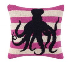 Octopus Hook Pillow - Clayton Gray Home
