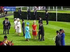 A Royal affair! Princess Mary and Kate Middleton at Royal   Ascot   VIDEO