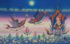 AJ Chalermchai painting