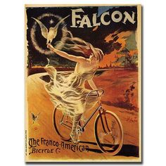 Falcon by Pal-Framed 18x24 Canvas Art