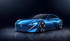 Geneefse stagiair lekt dikke conceptcar Peugeot