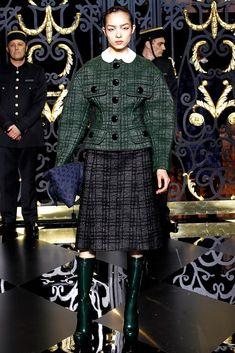 Louis Vuitton Fall 2011 Ready-to-Wear Fashion Show - Fei Fei Sun (Elite)