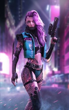 ArtStation - Cyberpunk female killer DaoDao Mao ArtStation - Cyberpunk female k. Cyberpunk 2077, Moda Cyberpunk, Cyberpunk Kunst, Cyberpunk Girl, Cyberpunk Aesthetic, Cyberpunk Fashion, Cyberpunk Tattoo, Cyberpunk Anime, Fighter Girl