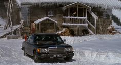 Mercedes-Benz 450 SEL [W116] (1975) car in ROCKY IV (1985) @Mercedes-Benz – The best or nothing