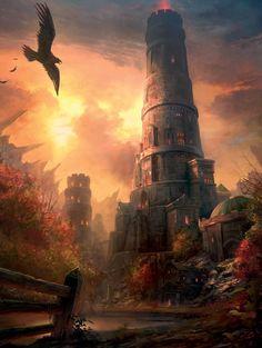 Wizard Tower - Pathfinder PFRPG DND D&D d20 fantasy