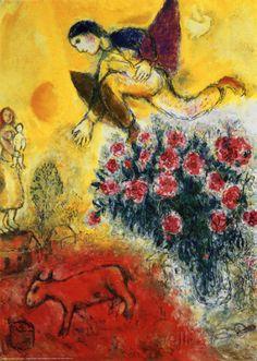 L'Envol Affiche par Marc Chagall sur AllPosters.fr