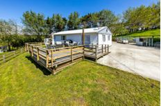 Check out this property Large Sheds, Septic Tank, Open Plan Living, Open Up, Acre, Beautiful Places, Real Estate, Cabin, House Styles