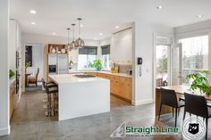 Fantastic kitchen with an open airy feel to it.