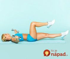 Target your abs, arms, butt, and thighs with this quick and easy workout! Complete these simple exercises at home—all you'll need is a set of dumbbells. Bodybuilding, Easy At Home Workouts, Workout For Flat Stomach, Flat Tummy, Tummy Workout, Workout Bauch, 10 Minute Workout, Fitness Magazine, I Work Out