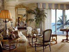 Living Room -  Palm Beach Retreat- William R. Eubanks